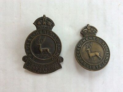 World War 1 Special Constable badges