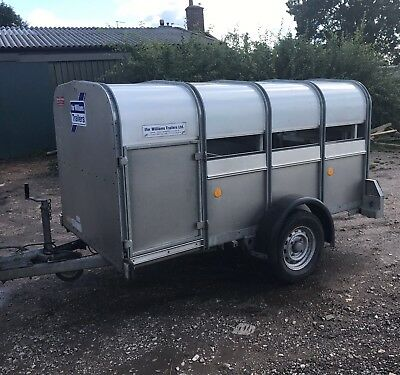 ifor williams P8G Livestock Trailer FINAL PRICE PLUS VAT