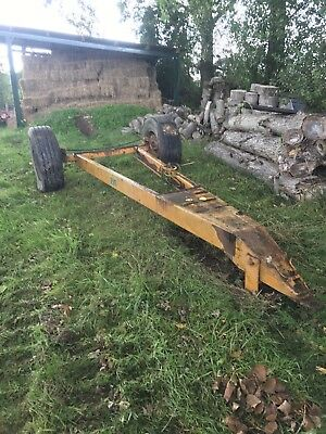 Tipping Trailer Chassis Low Loader
