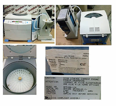 Thermo Savant SPD121P-115 Speed Vac Concentrator Centrifuge & Oil Free Vacuum Pu