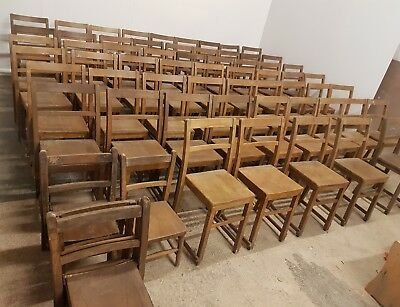 Huge Set Of 67 Chaple Chairs  WE CAN DELIVER