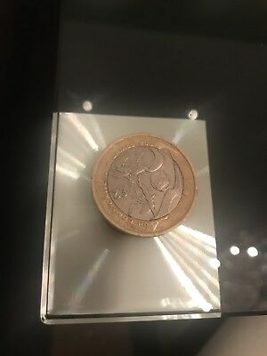 Commonwealth Games 2 Coin Wales