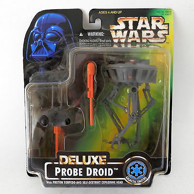 Star Wars Potf2: Deluxe Probe Droid (1996) - Mosc, Misb, New, 3.75