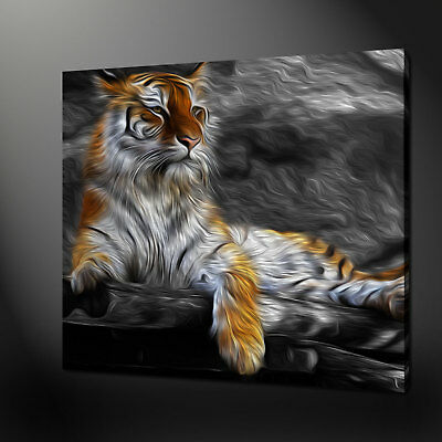 Majestic Tiger Picture Canvas Print Wall Art Variety Of Sizes Free Uk P&P