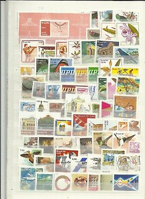 Brazil mainly 1970/80s stamps mostly mint clearance lot 2