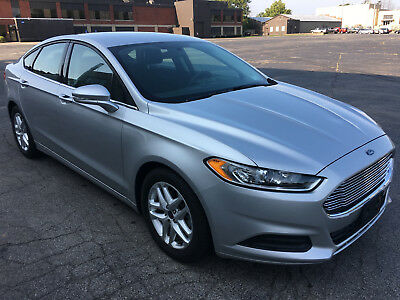 2016 Ford Fusion SE 2016 Ford Fusion SE ***Only 5k Miles!*** Salvage, rebuildable, damaged