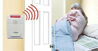 Wireless Cordfree Bed Alarm and Bed Pad/no Alarm in Patient's Room