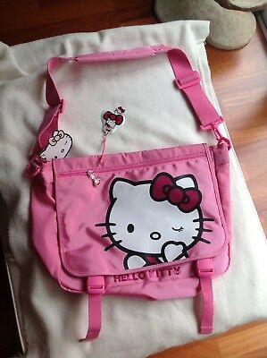Besace cartable Hello Kitty