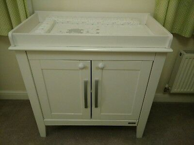 Mamas and Papas changing table white