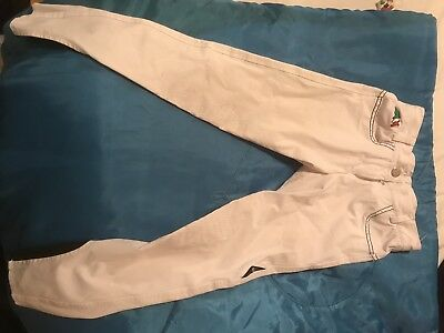 Equiline Children's Aged 10/11 White Breeches