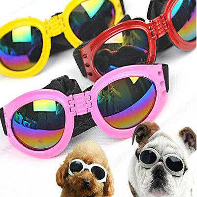 New Pet Puppy Dog Sunglasses Sun Glasses UV Protection Eye Wear Protection