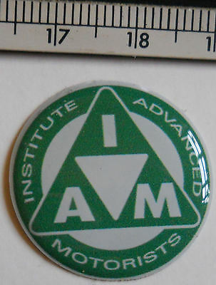 institute of advanced motorists, motorcycle badge
