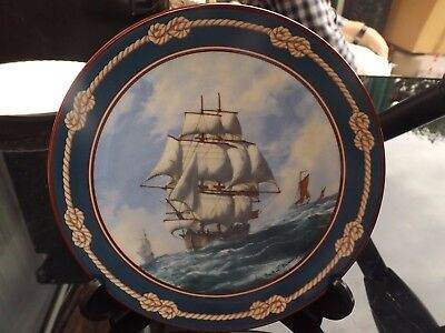 Royal Doulton  Great Sailing Ships Of Discovery  ''endeavour'  Ltd Edition