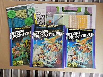Star Frontiers RPG Core Rules Box Set (1982) [TSR]