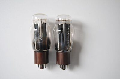 Brimar 5R4GY, rectifier tube, a pair, NOS.