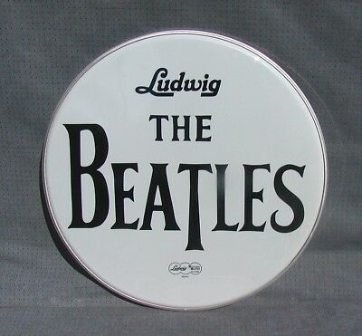 ** NO RESERVE ** 22 inch Bass Drum Head ** The BEATLES **