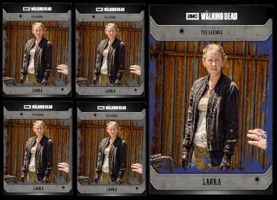Topps The Walking Dead Card Trader COMMUNITY LAURA Black & Blue Digital