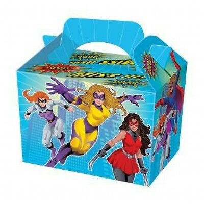 Wholesale Job Lot 150 Miss Hero Themed Food Boxes *Party *Boys *Girls