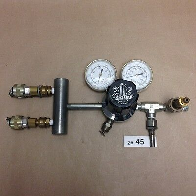 Air Systems REG-3000 Gas Regulator, with fittings