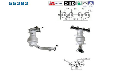 Catalytic Converter - AS 55282
