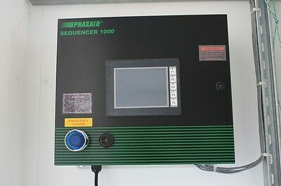 Praxair Sequencer 1000 (PN SP1000) Used To Switch to Second Gas Cabinet