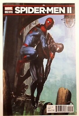 Spider-Men Ii #2 Dellotto 1:25 Incentive Variant Nm!!! Unread!!!
