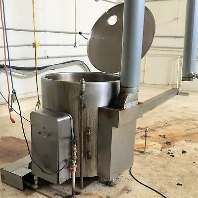 Vulcan-Hart GS60E Free Standing Steam Jacketed 60 Gallon Stainless Kettle