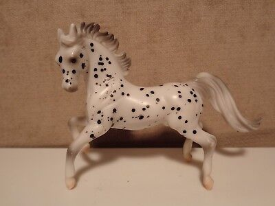 1999 Breyer Reeves Miniature Horse Beautifully Spotted Grey Knees  (Ma108)