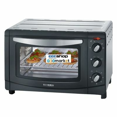 SEVERIN TO 2060 20L Black,Silver Grill toaster oven 1500 W - 100 - 230 °C TO2060