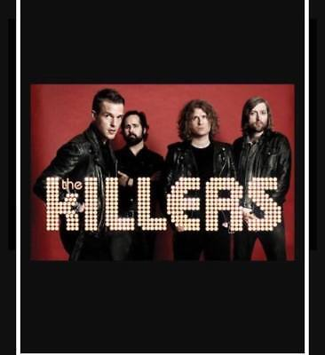 Killers Tickets 3 Arena Dublin 16th of November 2017
