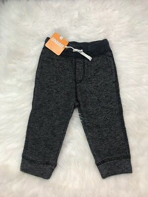 Gymboree Gray Jogger Skinny Pants Sweats Toddler's Size 12-18 NEW WITH TAGS EUC