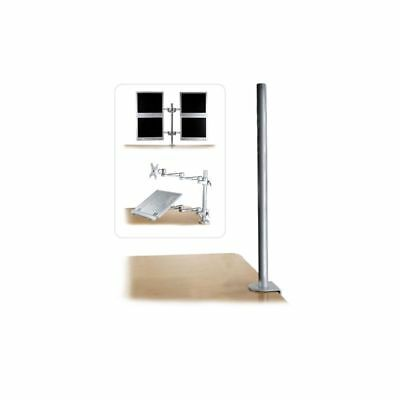 Lindy 40693 mounting kit - Rack Accessories 700mm Desk Clamp Pole 40693
