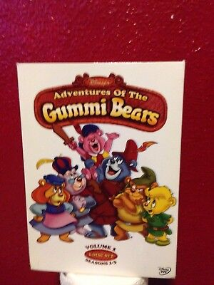Disneys Adventures of the Gummi Bears (DVD, 2006, 3-Disc Set)