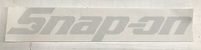 Snap On Tools Advertising Decal/Sticker,Garage, Shop,Vintage,Tool Box. CH195x35