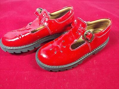 lc Vintage Girls Shoes Red Elefanten Size 28 Wide Made in Mexico