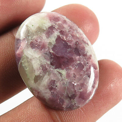 Gorgeous 28.70 Carats Natural LEPIDOLITE Jewelry Gemstone Oval Cabochon 30x22 mm
