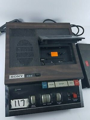 SONY TRANSCRIBER SECUTIVE MODEL BM-45A with Foot Control