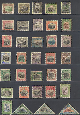 Stamps  Mozambique Company 34Pc Lot