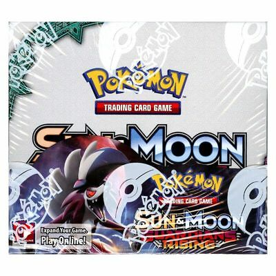 Pokemon Sun And Moon Guardians Rising Booster Box SM02 36 Booster Packs