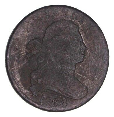 1798 Draped Bust Large Cent - Circulated *1379