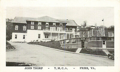 Fries, Virginia, John Thorp Ymca, Vintage Postcard