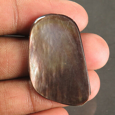 Amazing Natural MOP SHELL 32x20 mm FANCY CABOCHON Gemstone 20.30 Cts Best Price