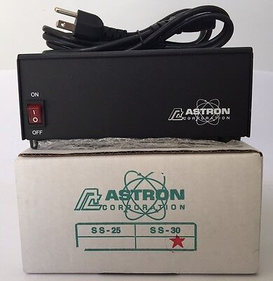 Astron Power Supply Ss-30. 13.8Vdc 30A. Brand New With Warranty