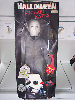 Halloween Michael Myers Doll/Figure Spencer Gifts Still In Box!!
