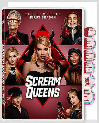 Scream Queens: The Complete First Season (DVD, 2016) 4-DISC SET