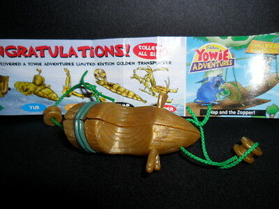 Yowies Series 7 ADVENTURE SERIES 2 * ZOPPER * LIMITED EDITION TRANSPORTER