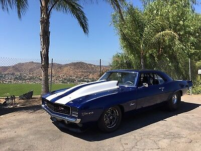 1969 Chevrolet Camaro Z28 1969 CAMARO Z28 BIG BLOCK TURBO RACE CAR HOT ROD