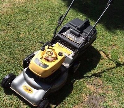 Talon Hawk lawn mower, Briggs & Stratton 450 engine, starts effortlessly