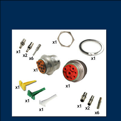 HD30 Series 24 Shell - 9 Way - Connector Kit