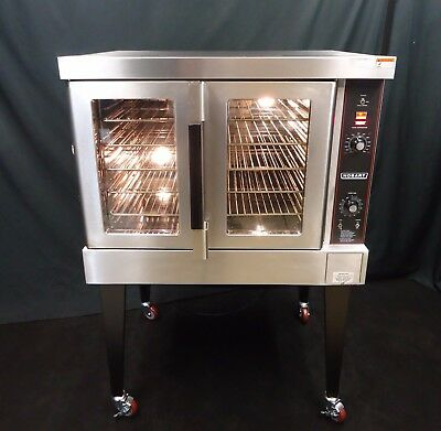 Vulcan / Hobart Gas Commercial Full Size Convection Oven Hgc-501 Bakery